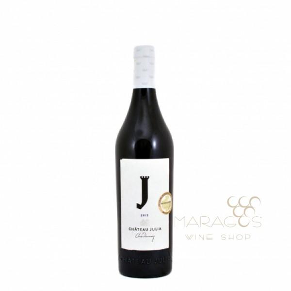 Κώστα Λαζαρίδη Chateau Julia Chardonnay  2017 0,75L ΚΡΑΣΙΑ ΛΕΥΚΑ ΕΜΦΙΑΛΩΜΕΝΑ maragos-wine.gr