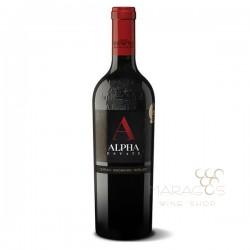 Κτήμα ΑΛΦΑ Ερυθρός 2014 0,75L RED WINES maragos-wine.gr