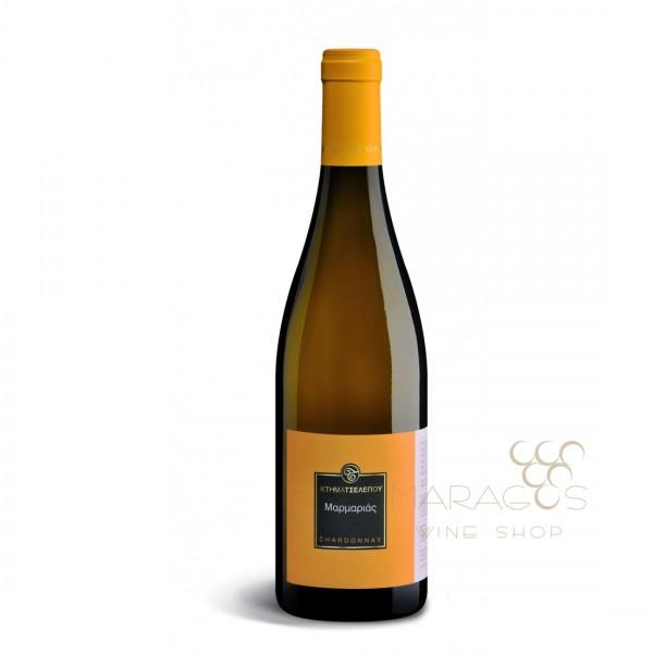 Κτήμα Τσέλεπου Μαρμαριάς Chardonnay 2017 0,75L ΚΡΑΣΙΑ ΛΕΥΚΑ ΕΜΦΙΑΛΩΜΕΝΑ maragos-wine.gr