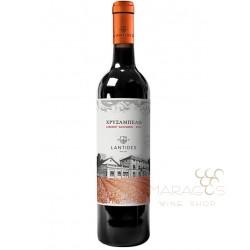 Κτήμα Λαντίδη Χρυσάμπελο 2016 0,75L RED WINES maragos-wine.gr