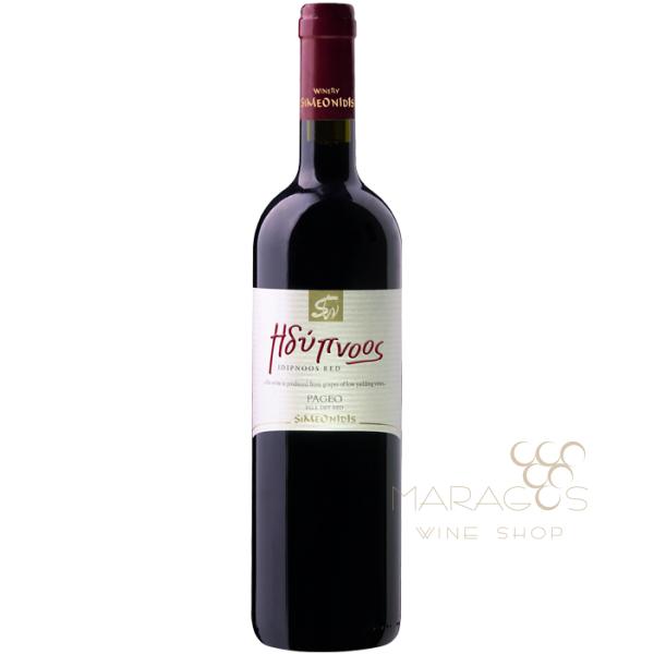 Συμεωνίδη Ηδύπνοος Cabernet Merlot 2013 0,75L RED WINES maragos-wine.gr