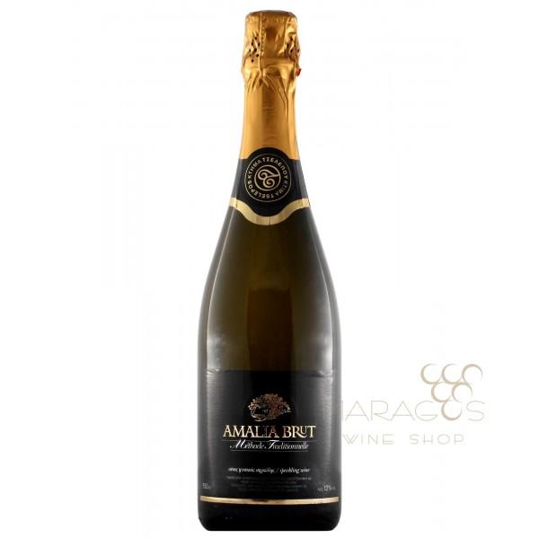 Κτήμα Τσέλεπου Amalia Brut 0,7L ΑΦΡΩΔΟΙ ΟΙΝΟΙ - SPARKLING WINES maragos-wine.gr
