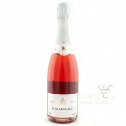 Καρανίκα Brut Ροζέ 0,75L ΑΦΡΩΔΟΙ ΟΙΝΟΙ - SPARKLING WINES maragos-wine.gr