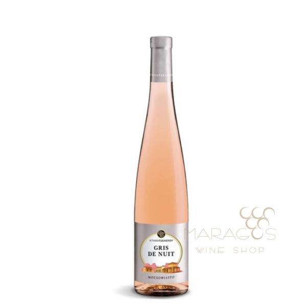 Κτήμα Τσέλεπου Gris de Nuit 2018 0,75L ΡΟΖΕ ΚΡΑΣΙΑ maragos-wine.gr