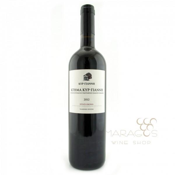 Κτήμα Κυρ Γιάννη 2016 0,75L RED WINES maragos-wine.gr