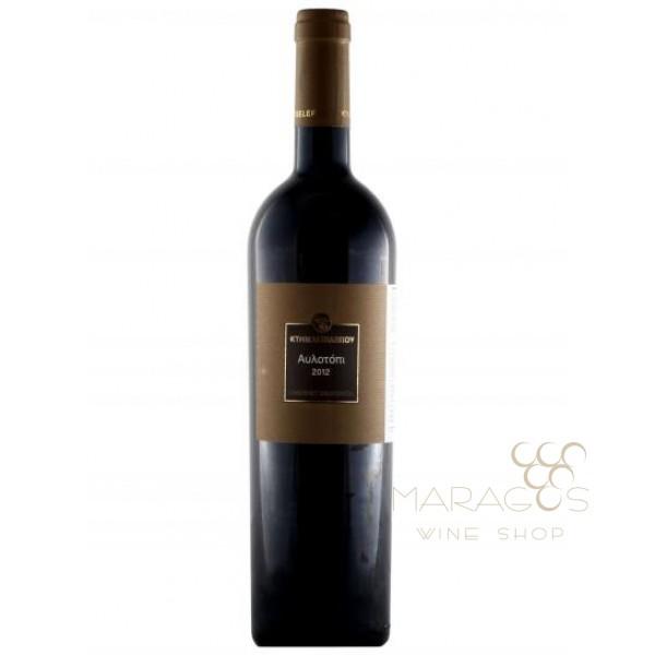 Κτημα Τσελεπου - Αυλοτοπι 2014 0,75 L RED WINES maragos-wine.gr