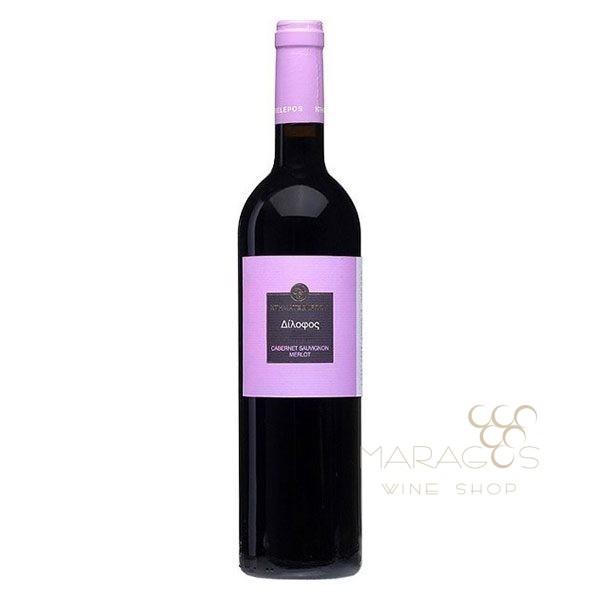 Κτήμα Τσέλεπου Δίλοφος 2016 0,75L RED WINES maragos-wine.gr